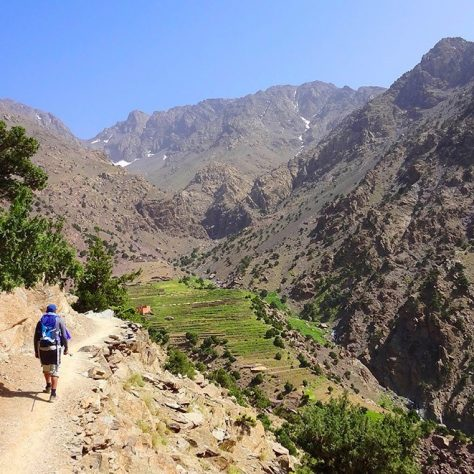 Toubkal, (Summer Ascent)