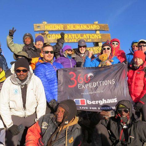 Julien Laporte, Kilimanjaro Lemosho Route