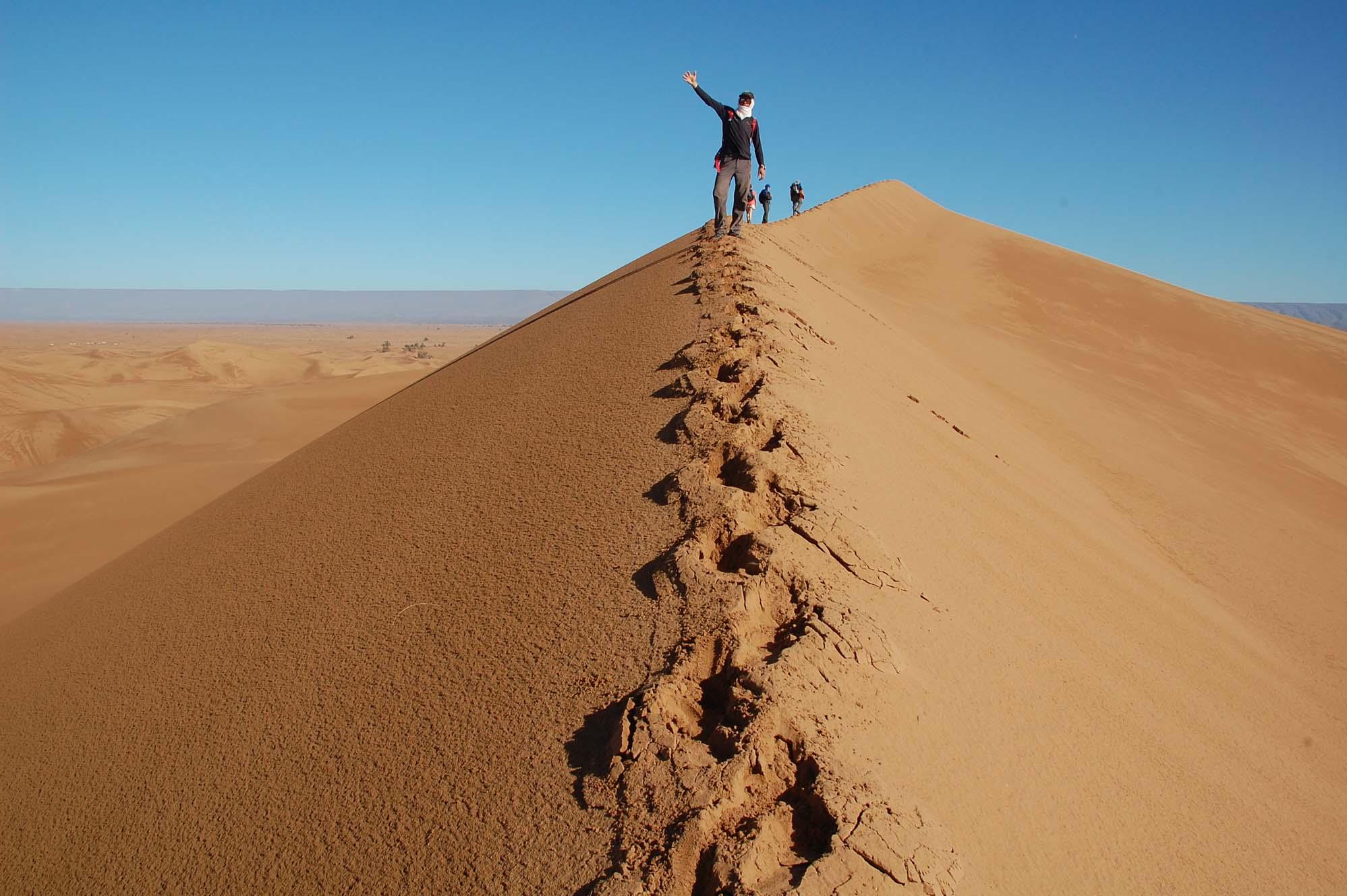 Trek The Sahara Desert With 360 Expeditions