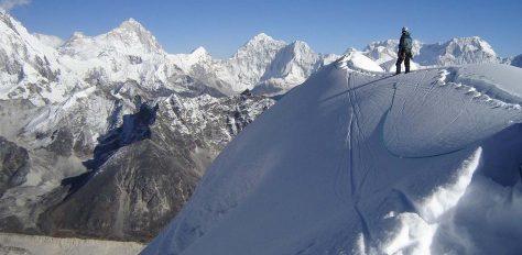 Mera, Island & Lobuche, Khumbu 3 Peaks