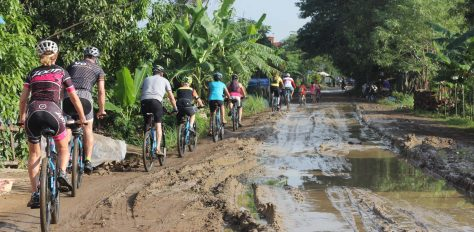 Vietnam to Cambodia, Cycle Ride