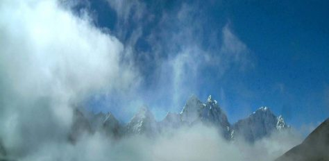 Lobuche East, via Everest Base Camp