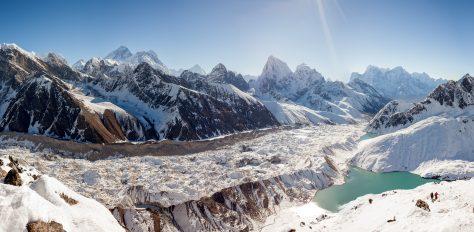 Everest Base Camp, & scenic heli flight