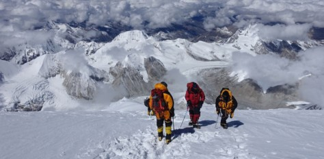 Everest, via the North Col